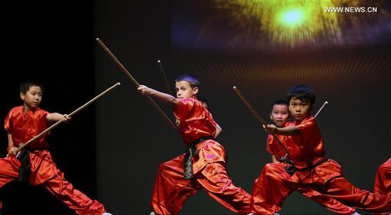 Shaolin Kung Fu show warmly applauded in Houston