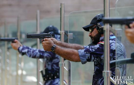 World Police Pistol Shooting Competition kicks off in Guangzhou