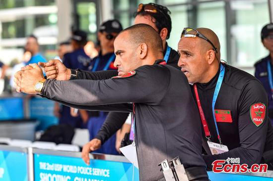 Police shooting championship kicks off in Guangdong