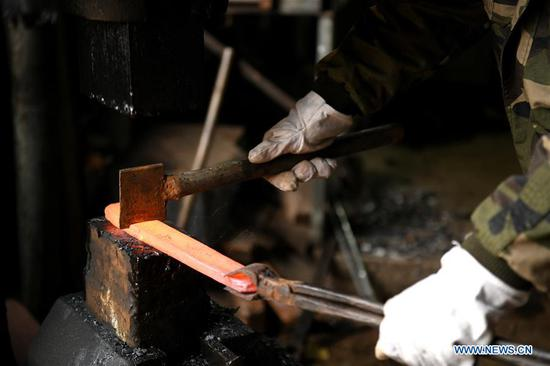 Man devoted to steel-making technique renewal