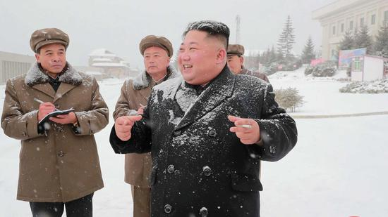DPRK tests high-tech new weapon according to state media