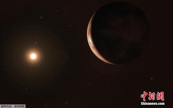 'Super-Earth' discovered orbiting Sun's nearest star