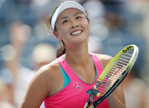 Peng Shuai into last eight at Houston tennis tournament