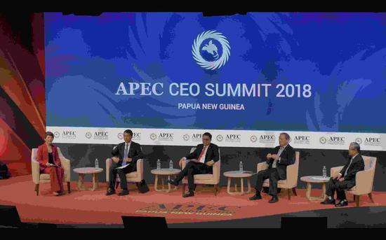 Papua New Guinea hosts APEC CEO Summit on cruise ship
