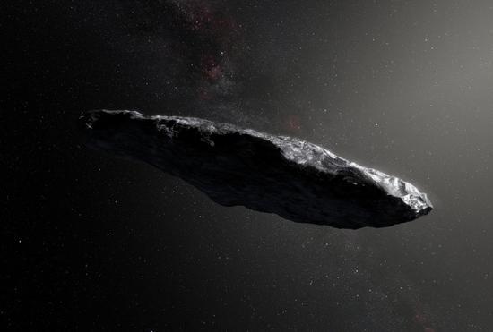 NASA reveals more information on first interstellar object