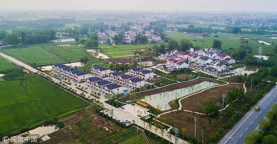 A Nanjing village steps out of poverty