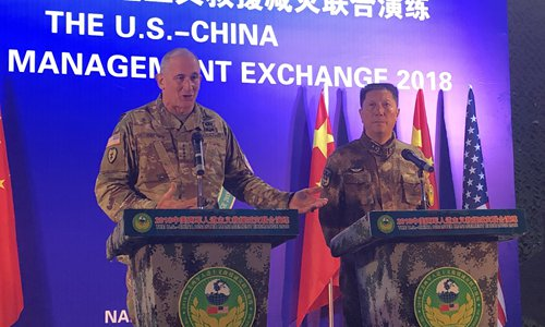 PLA, U.S. Army conduct military exchange in China