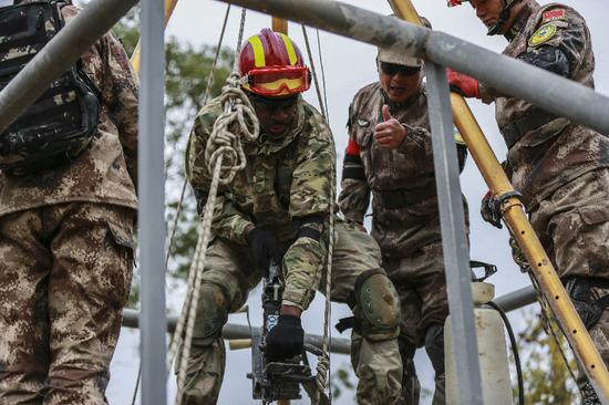 PLA, U.S. troops find 'common bond' in weeklong disaster response drill