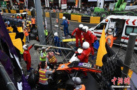 Five injured after horrible accident at 65th Macao Grand Prix