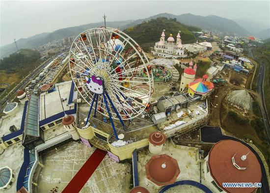 China to become world's largest theme park market by 2020