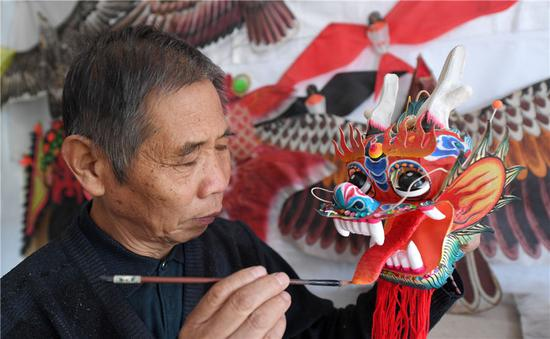 Retiree finds passion in kites