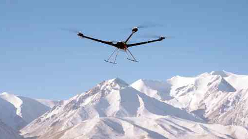 China develops small multi-rotor UAV with ceiling to 5,000 meters