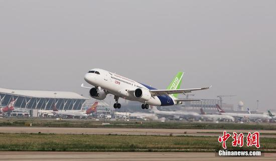 China's AVIC, COMAC to jointly develop commercial aircraft noses