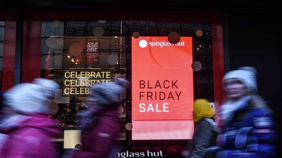 Black Friday affected by trade frictions between China and U.S.