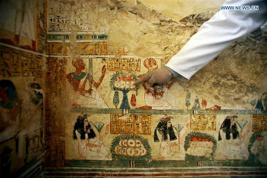 Egypt uncovers pharaonic tomb in heritage-rich Luxor
