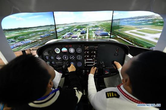 China Junior Flight Simulation Championships held in Harbin