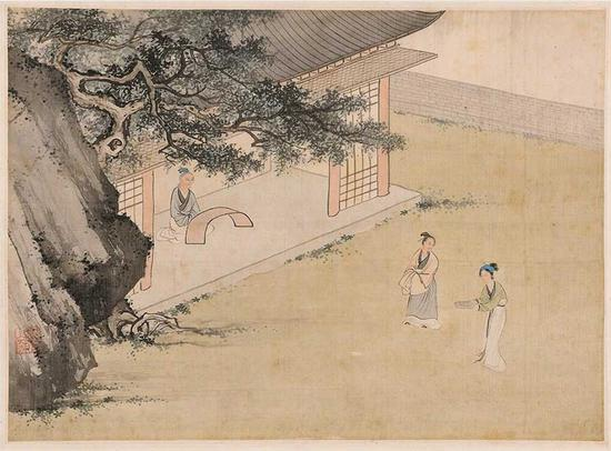 Silk painting album goes under the hammer