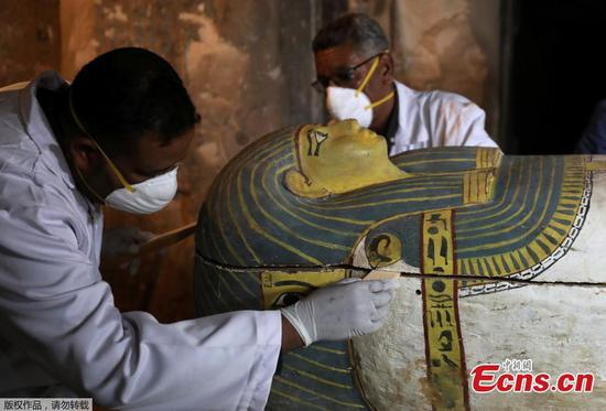 New ancient tomb unveiled in Egypt