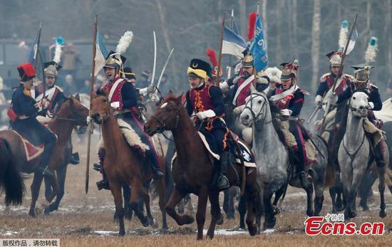 重新制定1812年的贝雷津纳战役