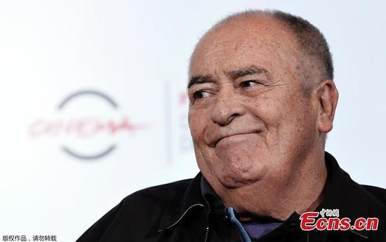 'The Last Emperor' director Bernardo Bertolucci dies, aged 77