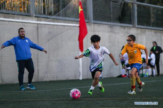 Sport CSKH links Chinese young football players with Spanish football culture