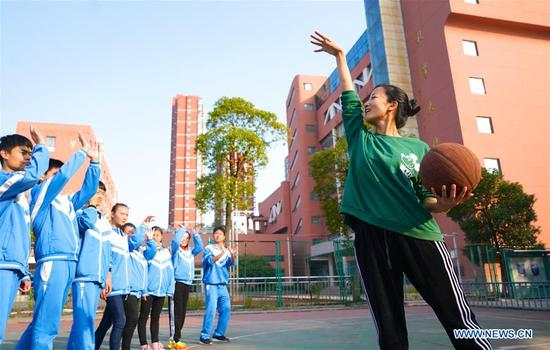 Teacher engaged in special education for 21 years in Jiangxi