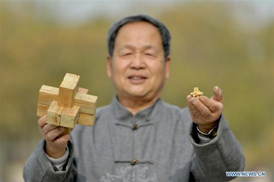 Man promotes art of Kong Ming Lock