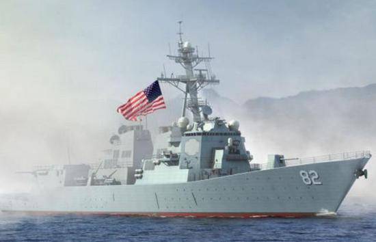 PLA keeps eye on U.S. ships in Taiwan Straits