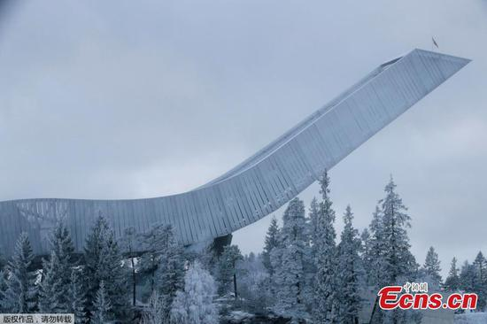 Enjoy great views and big thrills at Norway's Holmenkollen Ski Jump