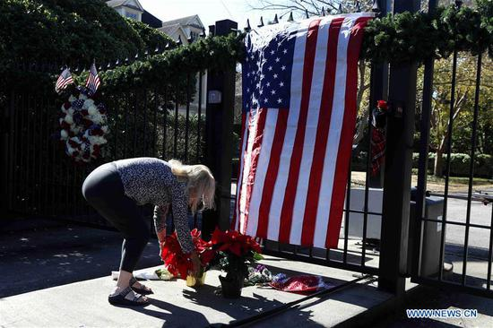 Locals mourn passing of former U.S. President George H.W. Bush