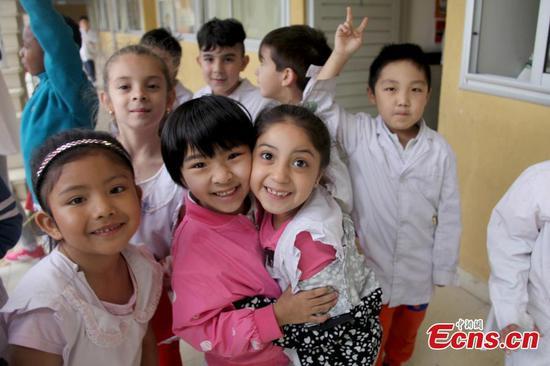 参观阿根廷唯一的西班牙语-普通话双语学校
