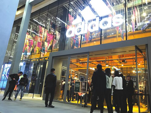 Overseas sports brands enjoy golden age in China