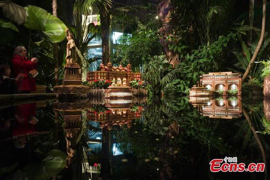 纽约植物园的假日火车秀