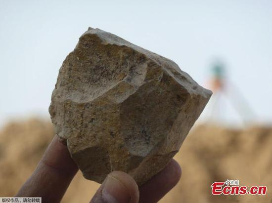 在阿尔及利亚发现有240万年前的工具