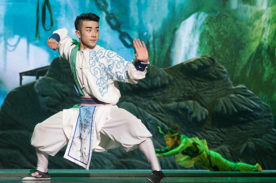 Chinese martial arts drama staged in Mauritius