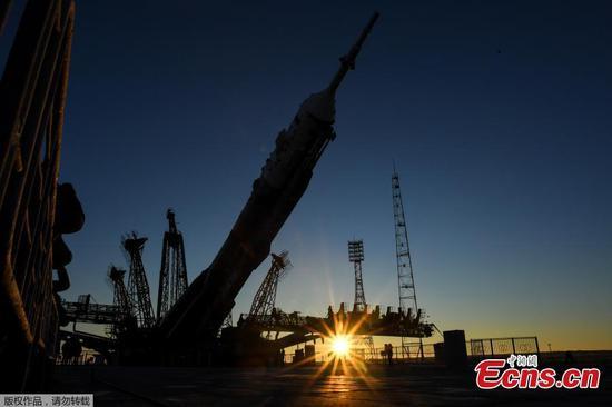 联盟号火箭将向太空站发射太空飞船