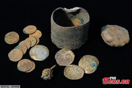 900-year-old gold coins found in Israel