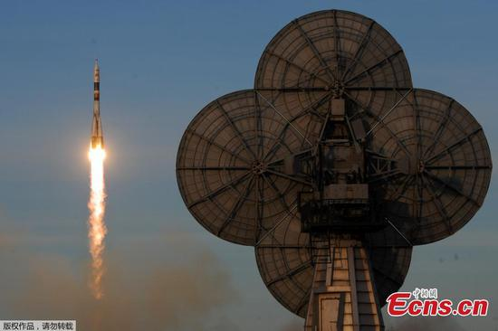 联盟号MS-11机组人员进入国际空间站