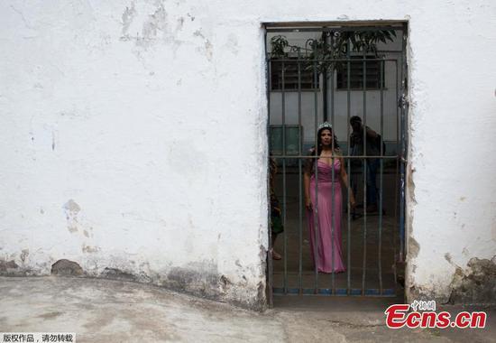 里约女囚犯参加选美比赛