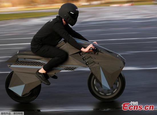 """这家德国公司推出了""""世界上第一款"""" 3D打印摩托车"""