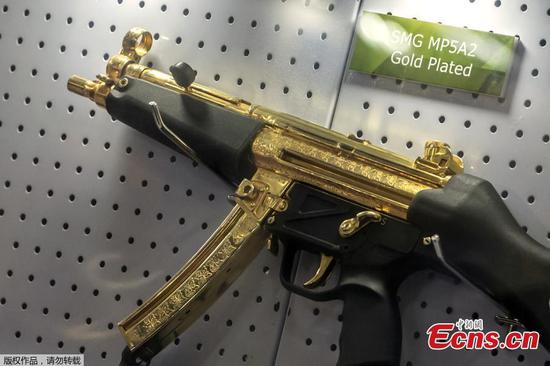 Golden guns shine at Egypt Defence Expo