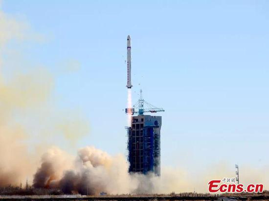 Two Saudi satellites launched from NW China
