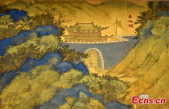 'Landscape Map of the Silk Road' on display in Hong Kong