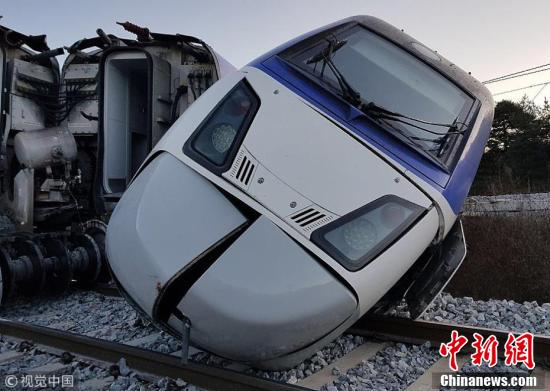 S Korean bullet train resumes operation after derailment