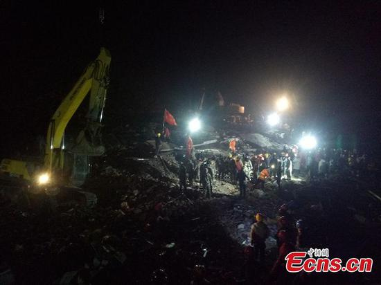 3 dead after SW China landslide