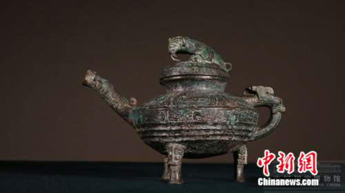 Bronze relic 'Tiger Ying' back to China