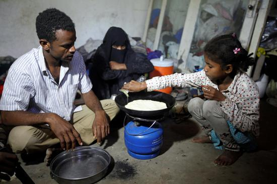 Only one meal per day for children as embattled Yemenis hope for end of war