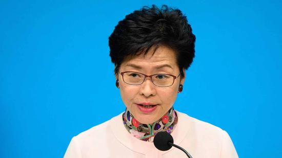 Carrie Lam: Meng Wanzhou issued SAR passport as per law