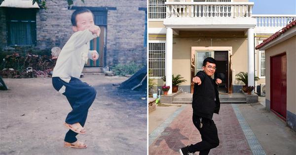 Past and present: 40 years of change in the lives of the Chinese people