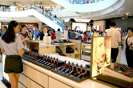 New duty-free shops open on China's island province